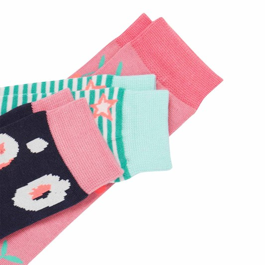 Joules Brilliant Bamboo Socks 3 Pack