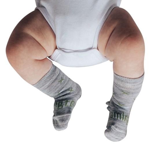 Lamington Socks Basil Merino Wool Crew Socks NB-2Y