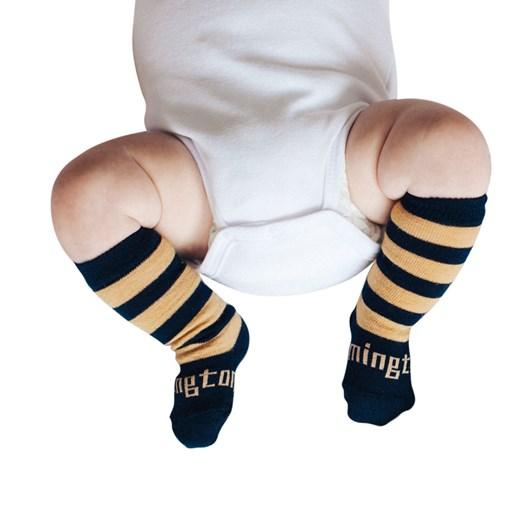 Lamington Socks Camel Merino Wool Knee High Socks NB-2Y