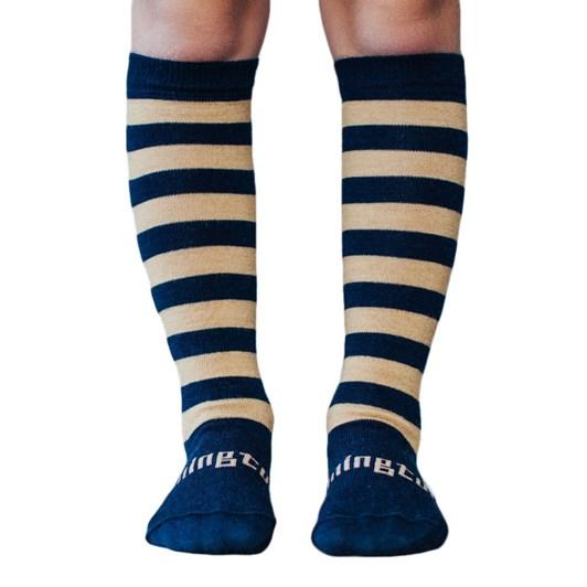 Lamington Socks Camel Merino Wool Knee High Socks 2-6Y