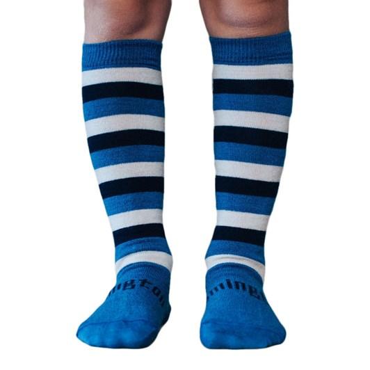 Lamington Socks Marine Merino Wool Knee High Socks 2-4Y