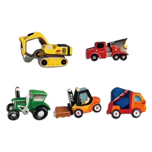 Jeanny Mould & Paint Trucks