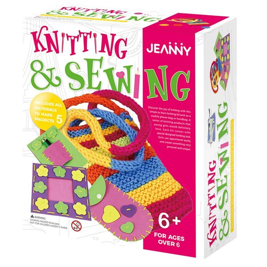 Jeanny Knitting And Sewing Kit