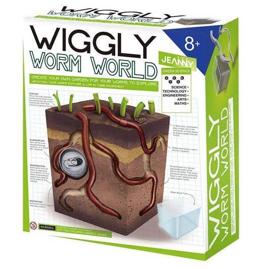Jeanny Create Your Own Wiggly Worm World