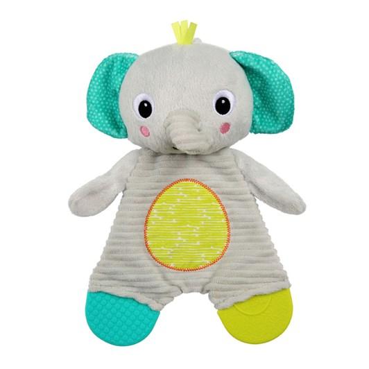 Bright Starts Snuggle & Teethe Plush Teether - Elephant
