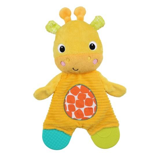 Bright Starts Snuggle & Teethe Plush Teether - Giraffe