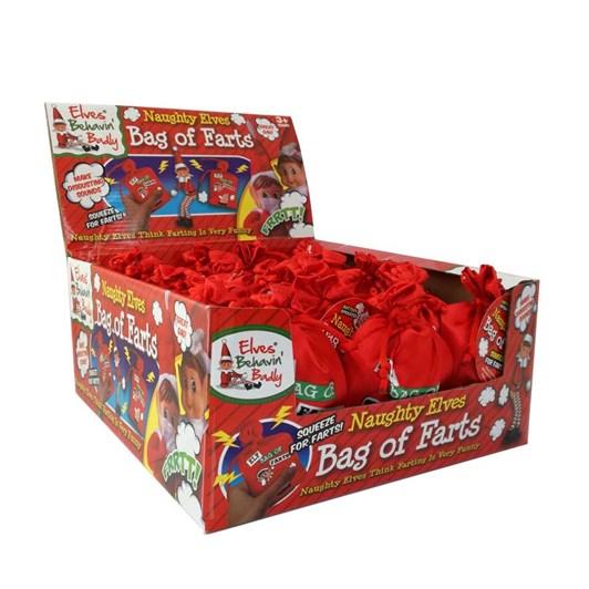 PMS Xmas Naughty Elf Bag Of Farts