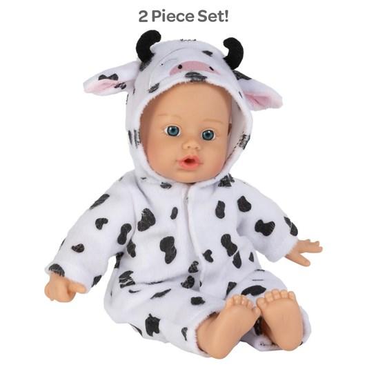 Adora Funsie Onesie Baby Cow