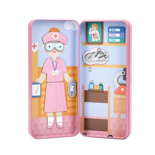 Mieredu Travel Magnetic Puzzle Box - Dream Big Series Health Profession