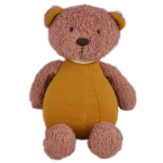 Bonikka Tikiri Organic Baby Bear With Muslin Body