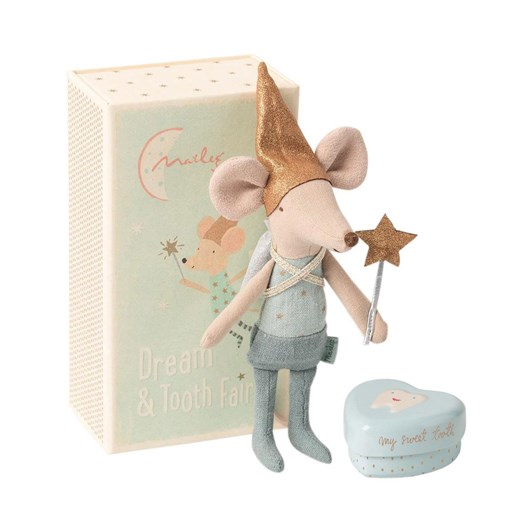 Maileg Tooth Fairy Brother Mouse In Box