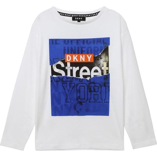 DKNY Long Sleeve T-Shirt 10-16Y