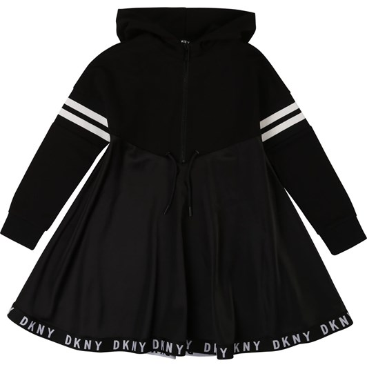 DKNY Hooded Dress 6-8Y