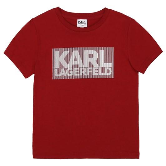 Karl Lagerfeld Short Sleeves Tee-Shirt 6-8Y