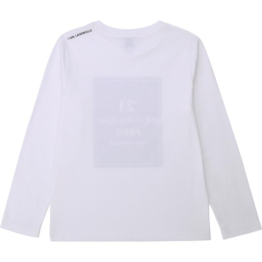 Karl Lagerfeld Long Sleeve T-Shirt 6-8Y