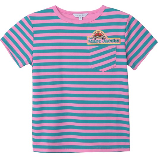 Little Marc Jacobs Short Sleeves Tee-Shirt 3-6Y