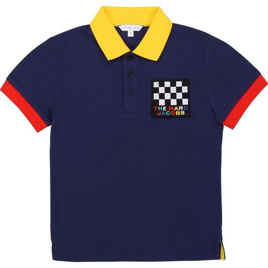Little Marc Jacobs Short Sleeve Polo 8-12Y