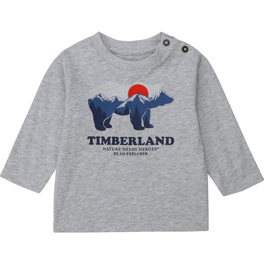 Timberland Long Sleeve T-Shirt 2-4Y