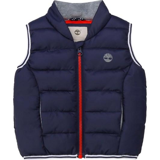 Timberland Puffer Jacket Sleeveless 6-18M