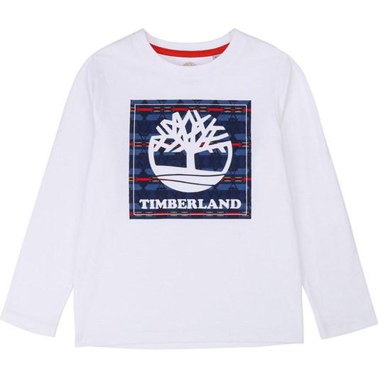 Timberland Long Sleeve T-Shirt 6-8Y