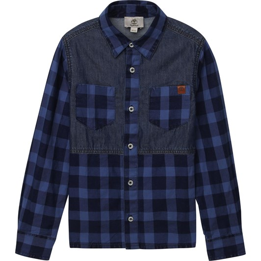 Timberland Long Sleeved Shirt 10-16Y