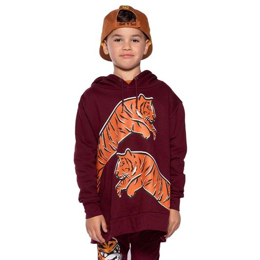 Band of Boys Leaping Tiger A-Line Hood Crew