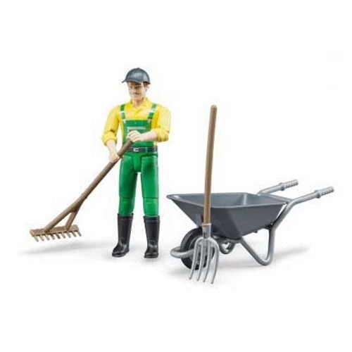 Bruder Farmer Figure Set