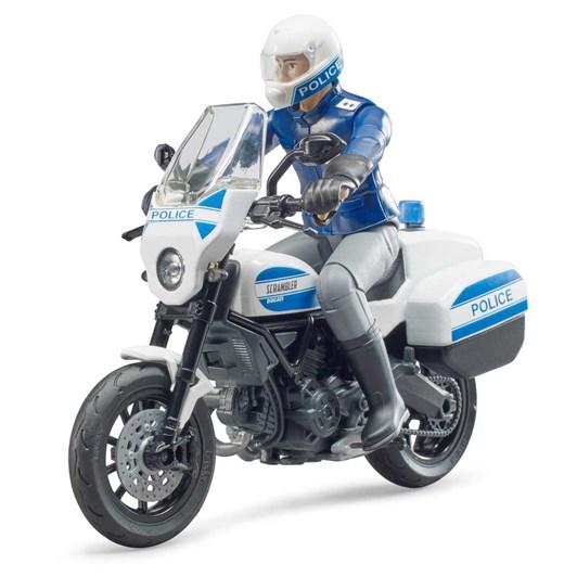 Bruder Policeman On Ducati Motorbike