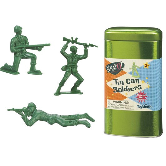 Toysmith Tin Can Soldiers