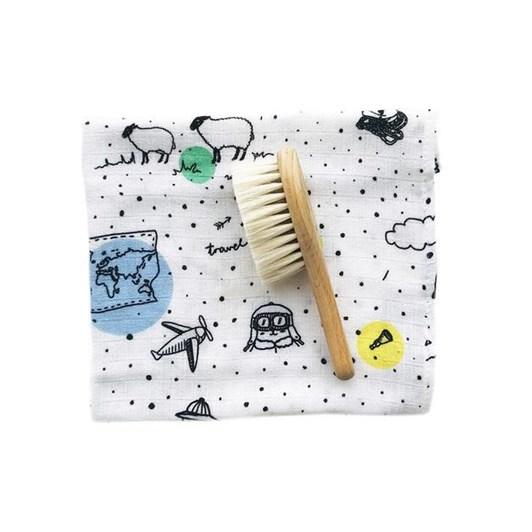 Lullalove Hairbrush Set - Adventure Pattern