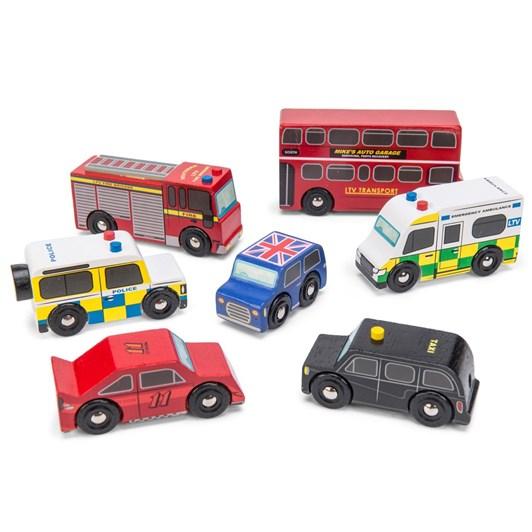 Le Toy Van London Set Of Cars