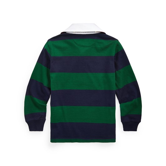 Polo Ralph Lauren Striped Cotton Rugby Shirt 5-7Y