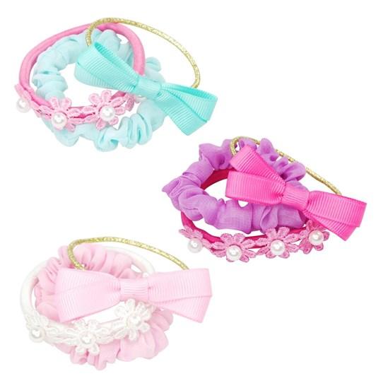 Pink Poppy Pastel Delight Scrunchie Elastic Set