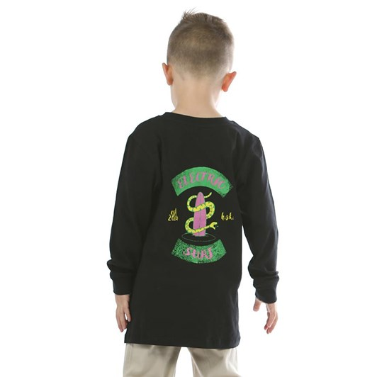Hello Stranger Electric Surf Long Sleeve Tee 3-7Y
