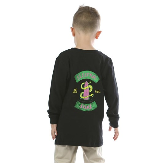 Hello Stranger Electric Surf Long Sleeve Tee 8-10Y