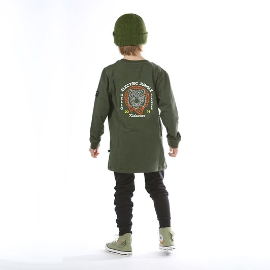 Hello Stranger Electric Jungle Long Sleeve Tall Tee 3-7Y