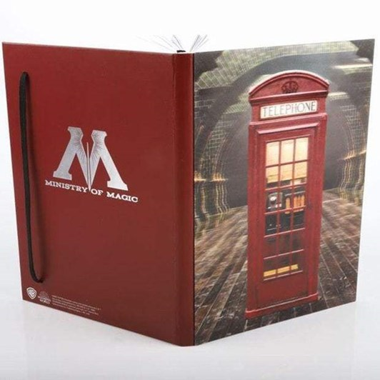 Harry Potter 3D HD A5 Notebook - Ministry Of Magic