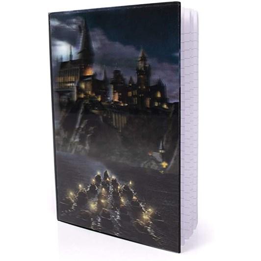 Harry Potter 3DHD A5 Notebook - Hogwarts Castle