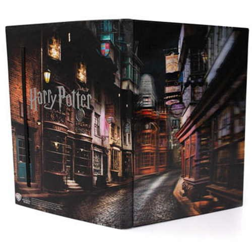 Harry Potter 3DHD A5 Notebook - Diagon Alley