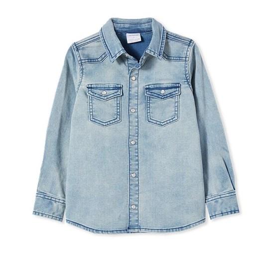 Milky Knit Denim Shirt