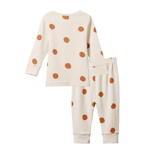 Nature Baby 2Pc Long Sleeve 2X2 Rib Pyjamas