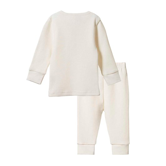 Nature Baby 2Pc Long Sleeve Waffle Pyjamas