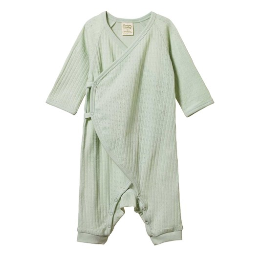 Nature Baby Kimono Stretch & Grow Pointelle