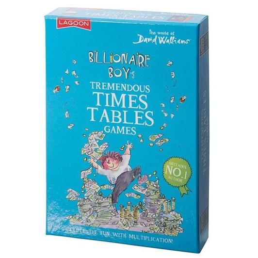 Lagoon David Walliams - Billionaire Boy's Tremendous Times Tables Games