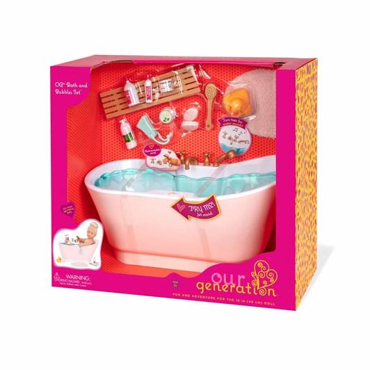 Our Generation Dolls Accessory Bathtub Set