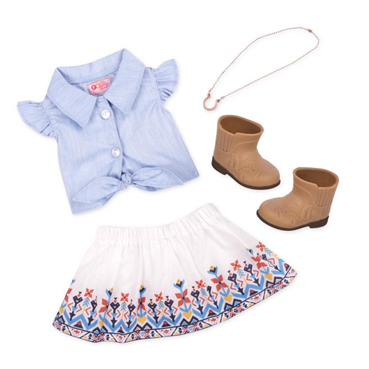 Our Generation Dolls My Lucky Horseshoe Outfit