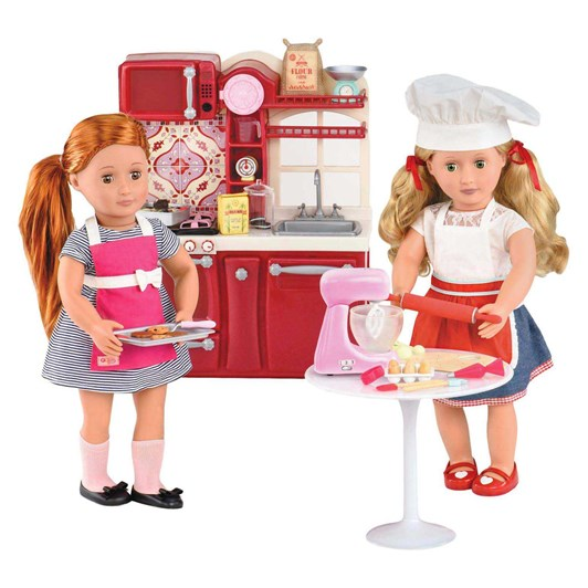 Our Generation Dolls Accessory Baking Set