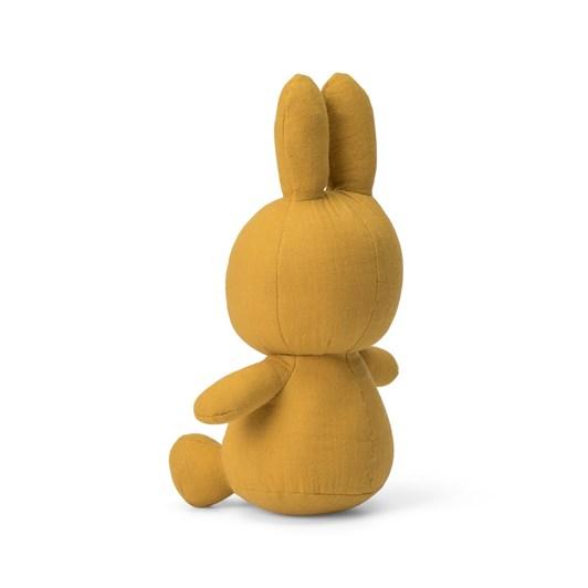Miffy Sitting Muslin Yellow 23Cm
