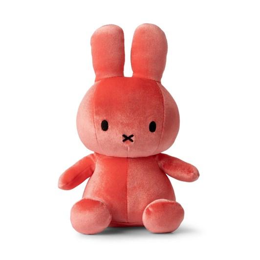 Miffy Sitting Velvet Candy Pink 23Cm