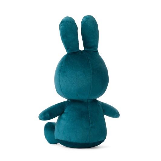 Miffy Sitting Velvetine Opal Blue 23Cm